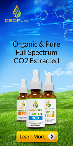 organic and pure, full spectrum, CO2 extracted