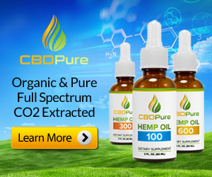 organic pure full spectrum CBD oil from CBDPure